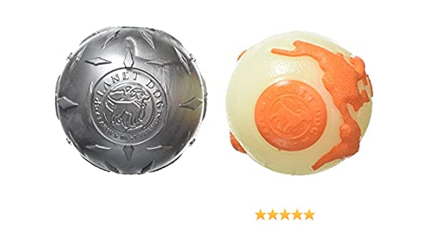 Planeta Perro orbee-Tuff Pack Diamond Plate Pelota, de un tamaño: Amazon.es: Productos para mascotas