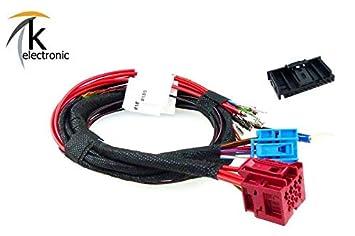 k-electronic Audi Q7 4L anklappbar/Schwenkbare Remolque AHK Juego de Cables: Amazon.es: Coche y moto
