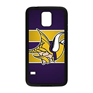 Minnesota Vikings Brand New And Custom Hard Case Cover Protector For Samsung Galaxy S5