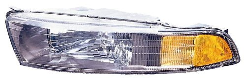 Galant Driver Replacement Mitsubishi - Depo 314-1127L-AS2 Mitsubishi Galant Driver Side Replacement Headlight Assembly