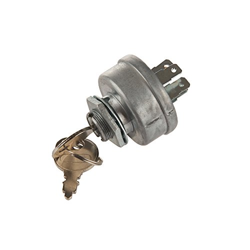 ch for craftsman lawn mower parts,Genuine Parts Tractor Ignition Switch with 2 keys toro lawn mower parts Sears MTD Craftsman John Deere Toro Riding Lawn Mower STD365402 24688 72 ()