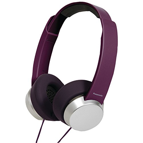 Panasonic RP HXD3WPP V Headphones Purple silver