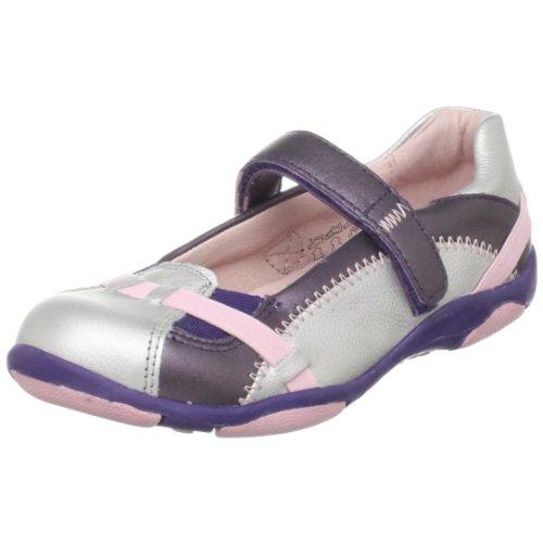Umi Arabella Mary Jane (Infant/Toddler/Little Kid),Silver/Purple,28 M EU (10.5 M US Little ()