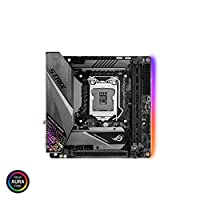 ASUS ROG Strix Z390-I Gaming LGA1151 (Intel 8th and 9th Gen) Mini ITX (MITX) DDR4 DP HDMI M.2 USB 3.1 Gen2 Motherboard
