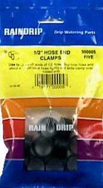 (ORBIT UNDERGROUND 300025B End Clamps (25 Pack), 1/2-5/8