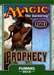 (Magic the Gathering Prophecy Theme Deck Pummel by Wizards of the Coast)