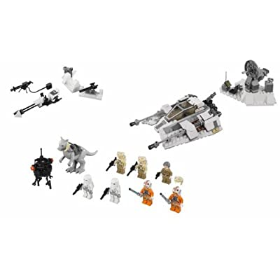 LEGO Star Wars Empire Strikes Back Battle of Hoth Exclusive Set #75014: Toys & Games