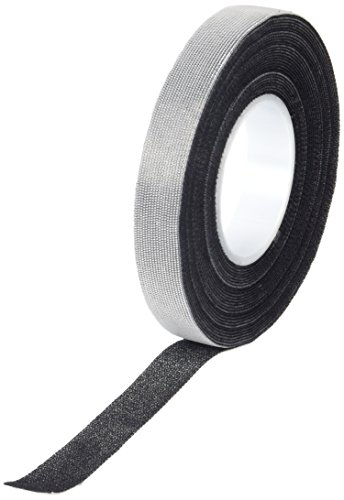 3M SJ3000 0.5in X 20ft Black Scotchmate Hook and Loop (1 Roll)