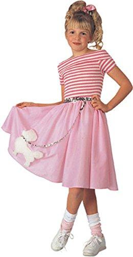 Rubie's Big Girl's Nifty Fifties Costume Child Costume (50s Girl Costume Ideas)