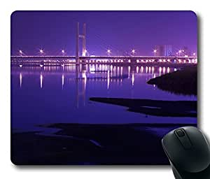 Bridge City 3 Gaming Mouse Pad Personalized Hot Oblong Shaped Mouse Mat Design Natural Eco Rubber Durable Computer Desk Stationery Accessories Mouse Pads For Gift - Support Wired Wireless or Bluetooth Mouse by Maris's Diary