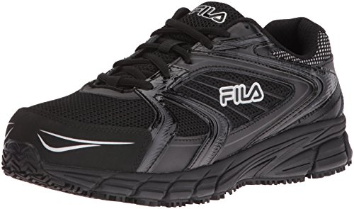 Fila Men's Memory Reckoning 7 Work Slip Resistant Steel Toe Running Shoe