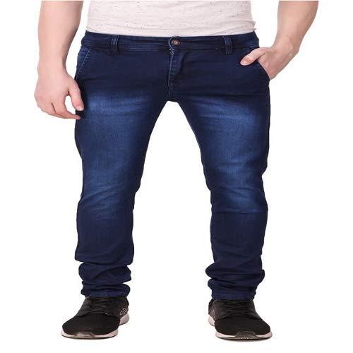 3fb59726bdc2d JACK   JINNY Men s Dark Blue Slim fit Jeans  Amazon.in  Clothing ...