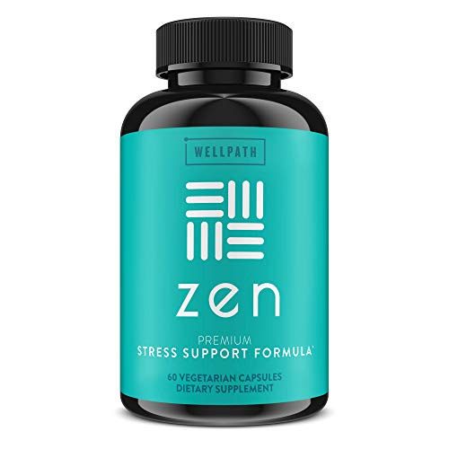 Zen Anxiety and Stress Relief Supplement - Natural Herbal Formula Supporting Calm