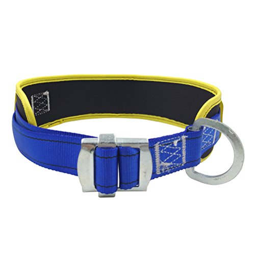 Ice Rock Climbing - Aoneky Body Belt with Hip Pad and Side D-Ring, Fall Arrest Safety Harnesses
