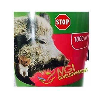 MGI DEVELOPPEMENT - Repelente de jabalíes, 1 L, barrera para animales salvajes