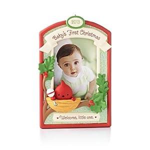 Amazon.com: Babys First Christmas 2013 Hallmark Ornament ...