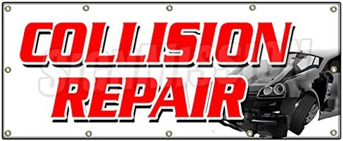 OIL CHANGE Auto Body Shop Car Repair Banner Sign 6 ft x 3 ft //w 6 Grommets