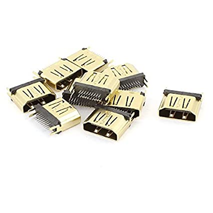Amazon.com: eDealMax 10PCS 1.6mm Micro HDMI hembra del ...