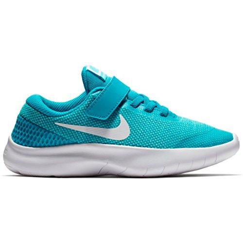 Nike Flex Experience RN 7 (PSV) 943288 400 Mädchen Klettverschluss/Slipper Halbschuh Hellblau