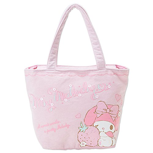 [My Melody]Strawberry wink pink tote bag