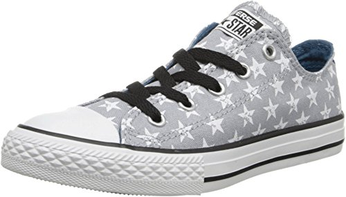 Star Print Ox Shoe - Converse Girls' Chuck Taylor All Star Ox Star Print (Youth) - Lucky Stone - 5 Youth