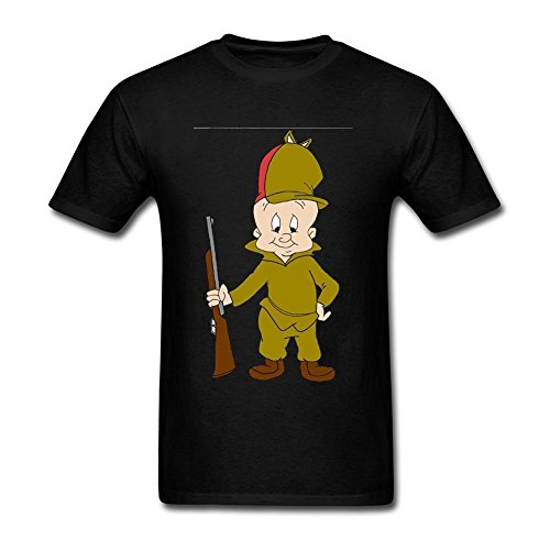 tommery-mens-elmer-fudd-short-cotton-t-shirt