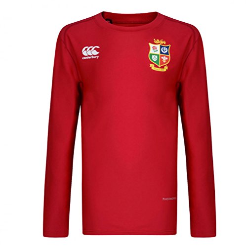 Canterbury British and Irish Lions Vapodri Baselayer Top - Small - Red