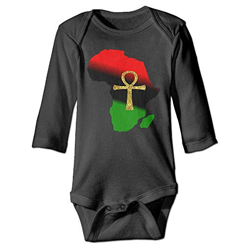 Clarissa Bertha Africa and ANKH Baby Toddler Long Sleeve Onesies Bodysuits by Clarissa Bertha