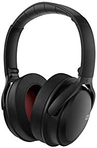 CB3 HUSH Wireless Bluetooth Headphones with Active Noise Cancelling Technology (Black)