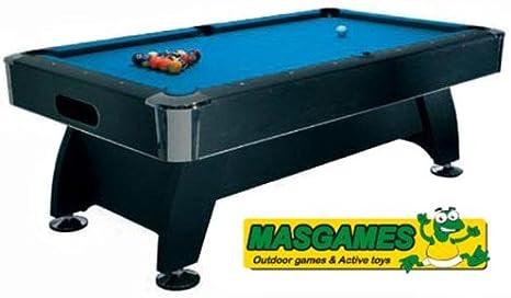 Billar MASGAMES Deluxe (7pies) 212x121x79 cm: Amazon.es: Deportes y aire libre