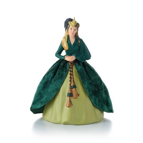 Hallmark Scarlett's Green Gown - Gone with The Wind 2013 Ornament