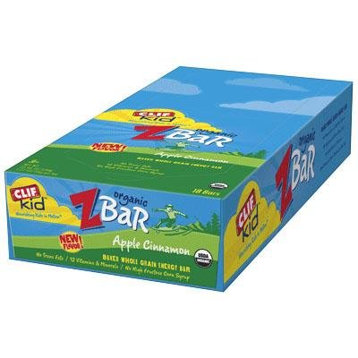 Clif Bar Kids ZBar: Iced Oatmeal Cookie Box of 18 by Clif Bar