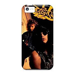 Scratch Resistant Cell-phone Hard Cover For Apple Iphone 5c (Esn52iJva) Support Personal Customs Vivid Aerosmith Band Skin