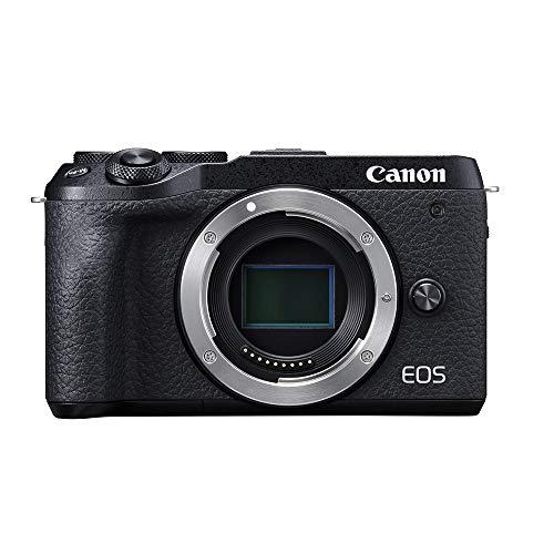 Canon EOS M6 Mark II Mirrorless Camera, Body (Black)
