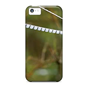 Anti-scratch And Shatterproof Long Eared Birds Phone Case For Iphone 5c/ High Quality Tpu Case