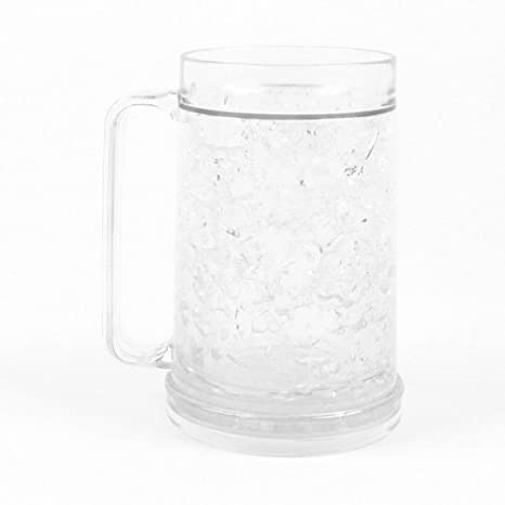 Freezer Mug - Double Wall -16oz. Capacity - Clear Simply Green Solutions NA
