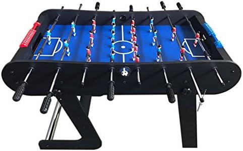 MESA FUTBOLIN MADERA Modelo Easy Soccer ROBUSTO Y RESISTENTE NUEVO PLEGABLE COLOR NEGRO: Amazon.es: Juguetes y juegos