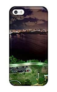 Awesome Design City Around A Big Lake Hard Case Cover For Iphone 5/5s