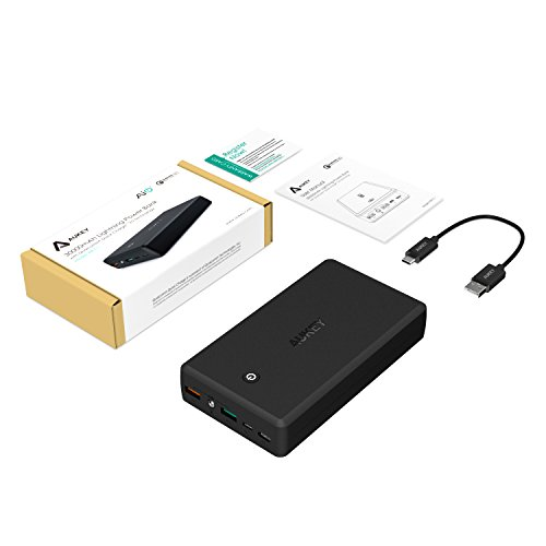 AUKEY 30000mAh Portable Charger With Quick Charge 3.0