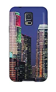 Hot 3191593K42085347 Tpu Fashionable Design Los Angeles City Rugged Case Cover For Galaxy S5 New