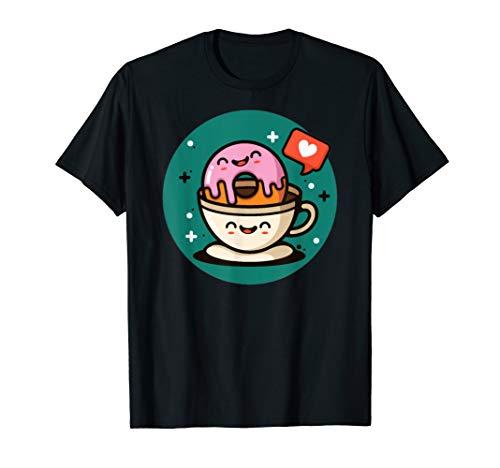 Happy Donut Coffe Love  T-Shirt
