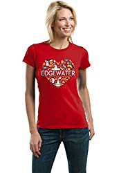 I Heart Edgewater, MD | Maryland Love Ladies' T-shirt