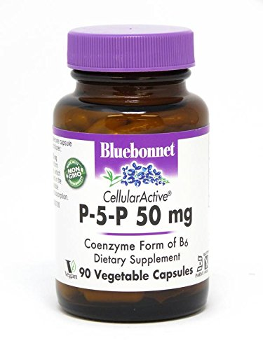 Bluebonnet Nutrition - CellularActive P-5-P 50mg - 90 Vegetarian Capsules