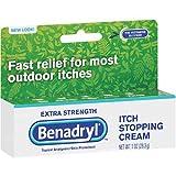 Product review for Benadryl Extra Strength Anti Itch Cream 1 Oz Tube