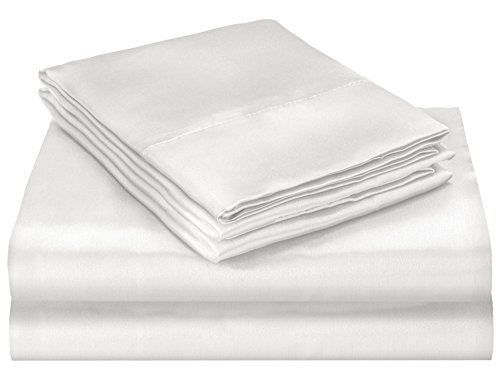 white satin bed sheets - 8