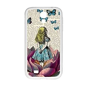 KORSE Lovely butterfly girl Cell Phone Case for Samsung Galaxy S4