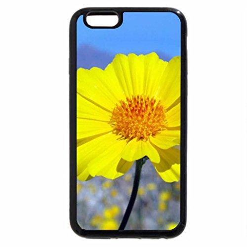 iPhone 6S / iPhone 6 Case (Black) Desert gold