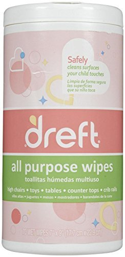 Dreft All Purpose Wipes - 70 ct by Dreft