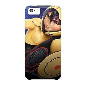 AaronBlanchette Iphone 5c Shock Absorbent Hard Phone Cover Customized HD Big Hero 6 Image [JCe3027HiFT]