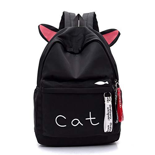 Gatti Sacchetto Vhvcx B Bagpack Verde Zaino Ragazze Belle Rosa Di Kawaii Per Ear Donna Packbag Scuola Cat Bookbag Zaini wE0AxrqU0